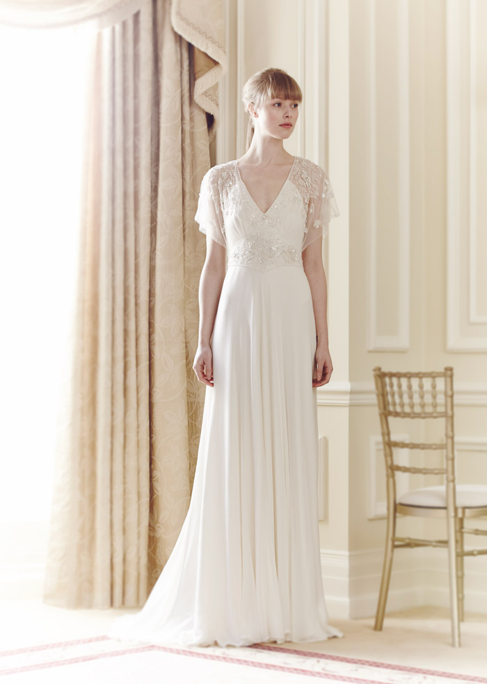 Tilly – Jenny Packham Spring 2014 Collection. www.theweddingnotebook.com