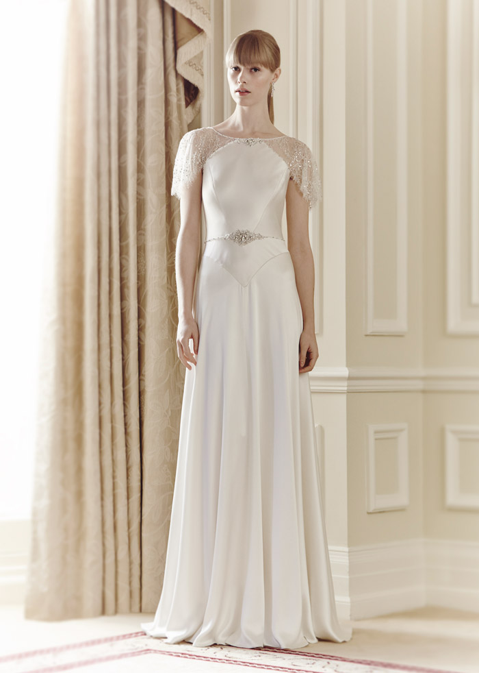 Nanette – Jenny Packham Spring 2014 Collection. www.theweddingnotebook.com