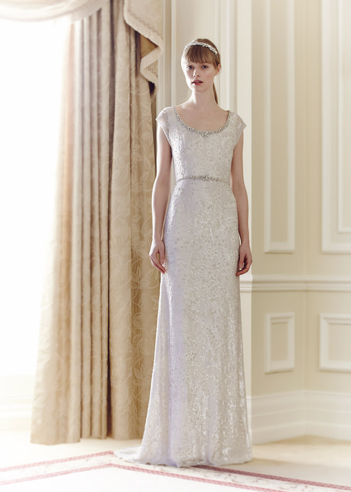 Utopia – Jenny Packham Spring 2014 Collection. www.theweddingnotebook.com