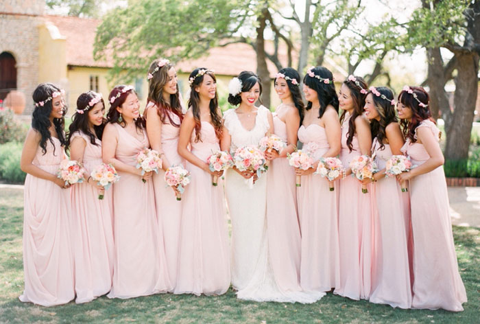 Bridesmaids' Dresses Roundup. Taylor Lord Photography. www.theweddingnotebook.com