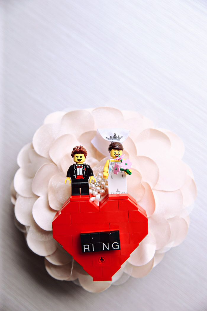 LEGO-themed Wedding. Photography by Axioo. www.theweddingnotebook.com