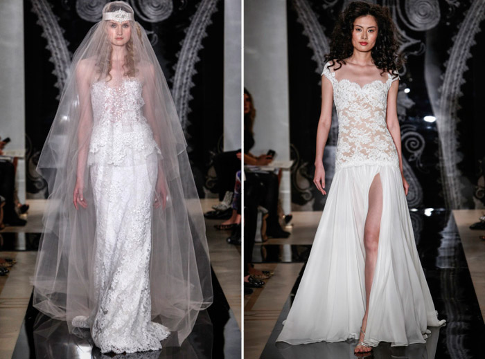 Reem Acra Spring 2014 Bridal Collection. www.theweddingnotebook.com