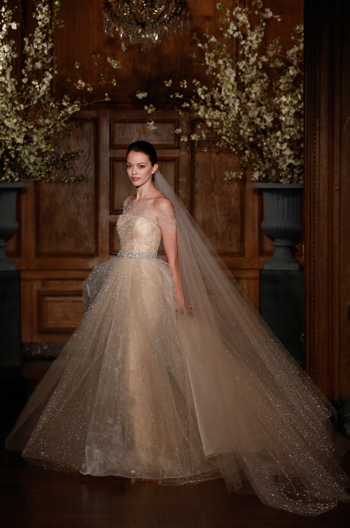 Romona Keveza Couture Spring 2014 Bridal Collection. www.theweddingnotebook.com. 2014 - The Future. Looking ahead with pure, uninhibited imagination, Keveza creates a new future classic