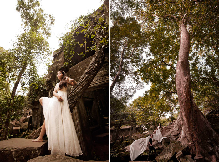How To Shoot Your Own Bridal Portraits. www.theweddingnotebook.com