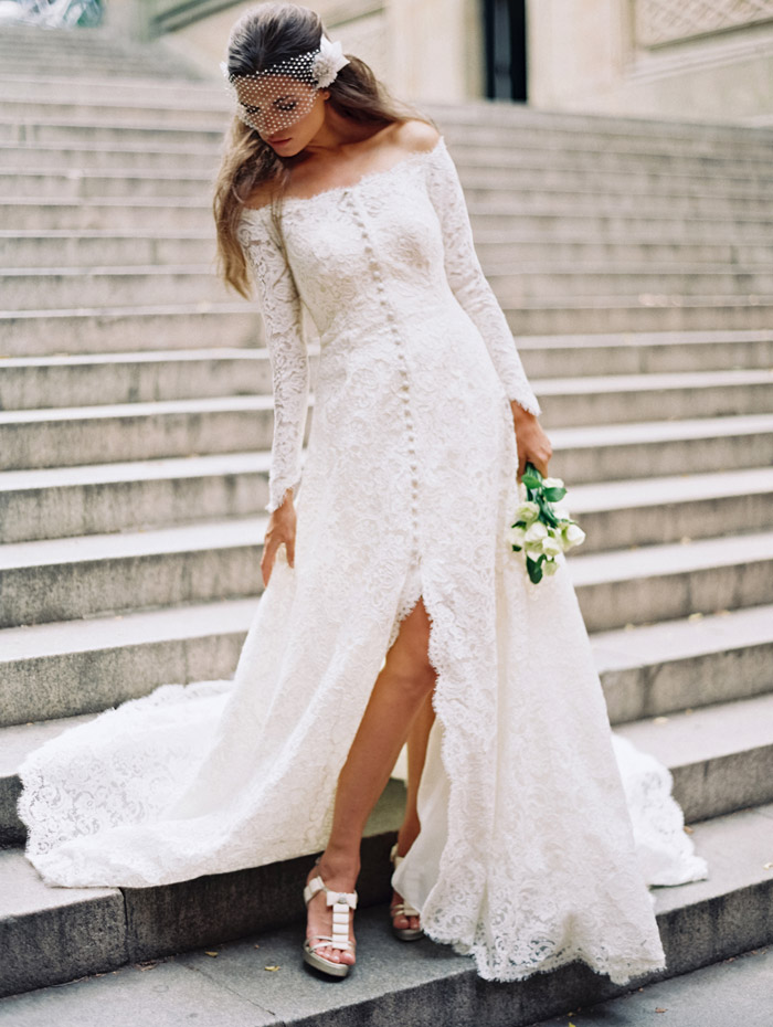 Creative ways to wear your wedding dress again the for The notebook wedding dress