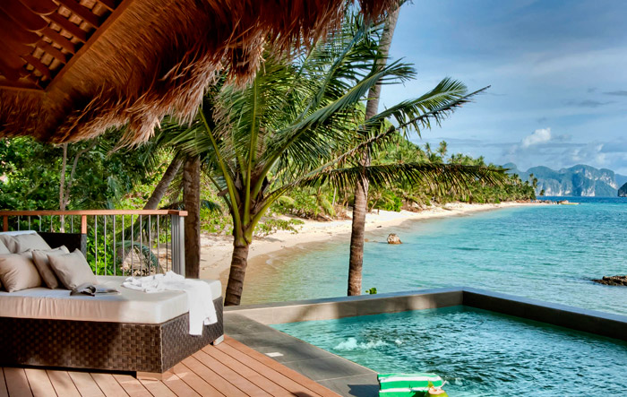 El Nido Resort, Pahlawan Island - 25 Must-See Honeymoon Resorts In Asia. www.theweddingnotebook.com