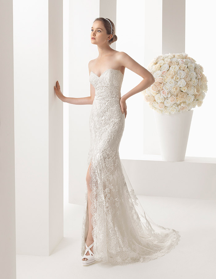 Two by Rosa Clará 2014 Bridal Collection. www.theweddingnotebook.com