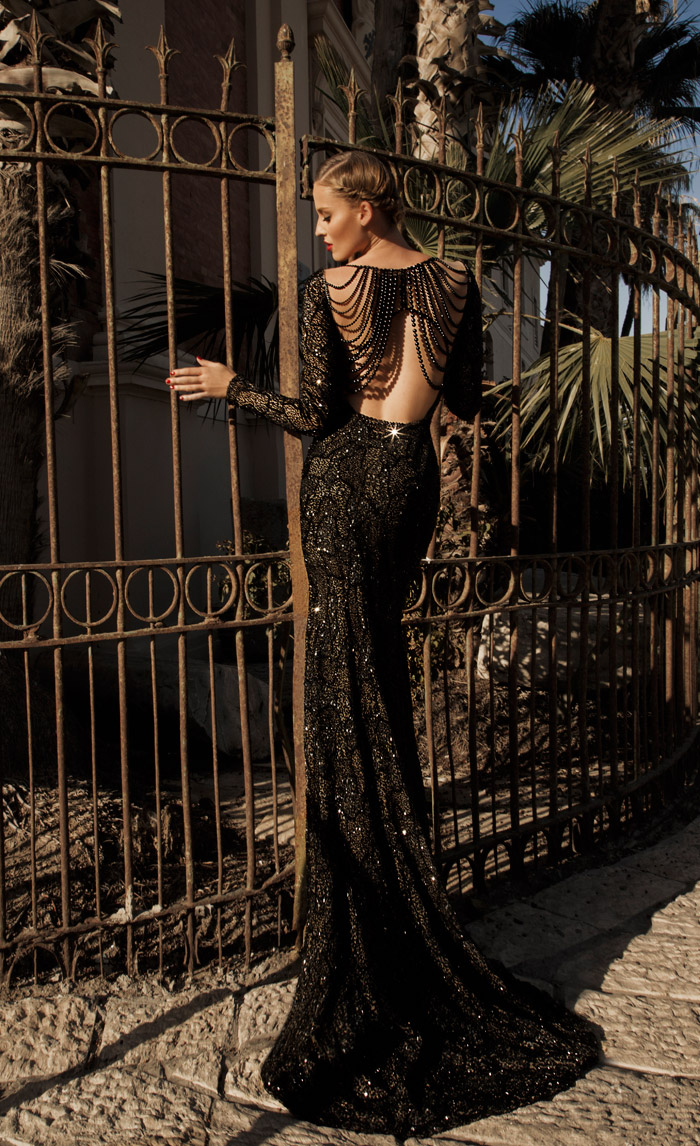 Jupiter – Galia Lahav 2014 Evening Collection. www.theweddingnotebook.com