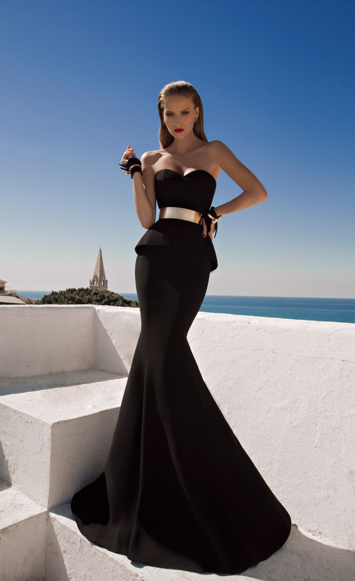 Shalimar – Galia Lahav 2014 Evening Collection. www.theweddingnotebook.com