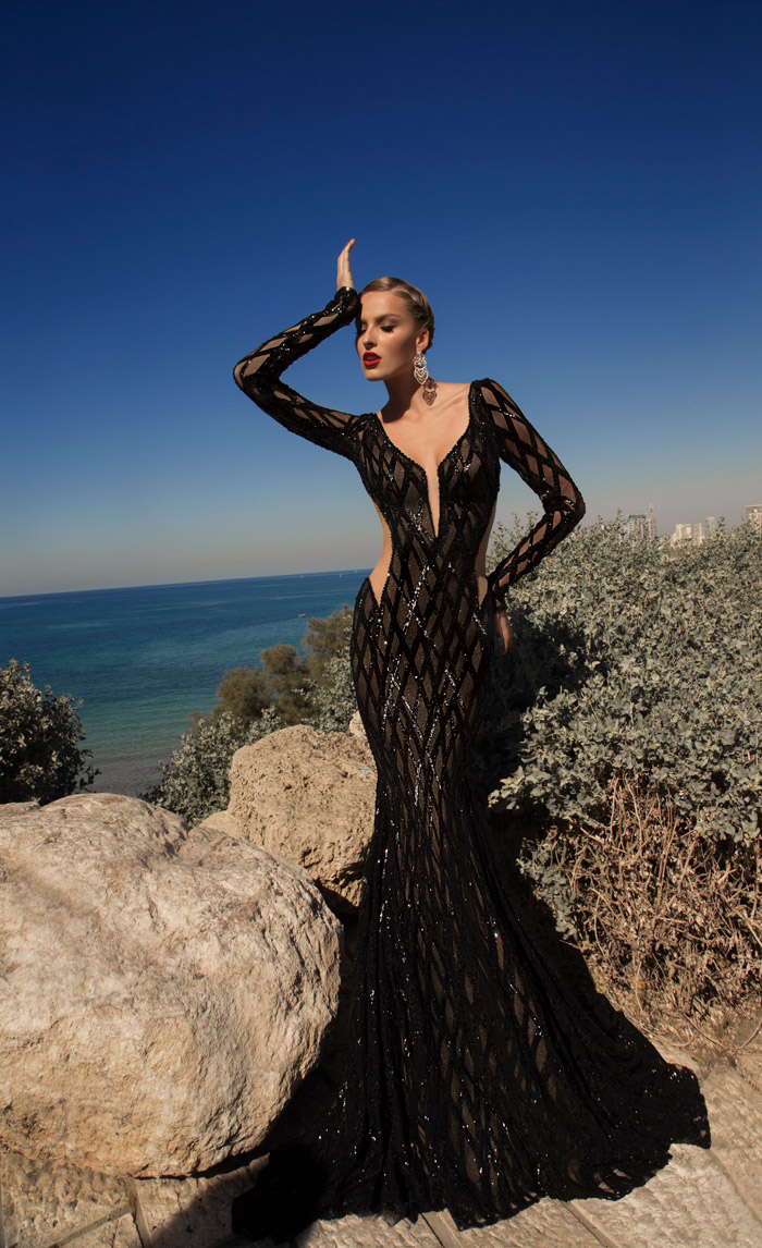 Meteor – Galia Lahav 2014 Evening Collection. www.theweddingnotebook.com
