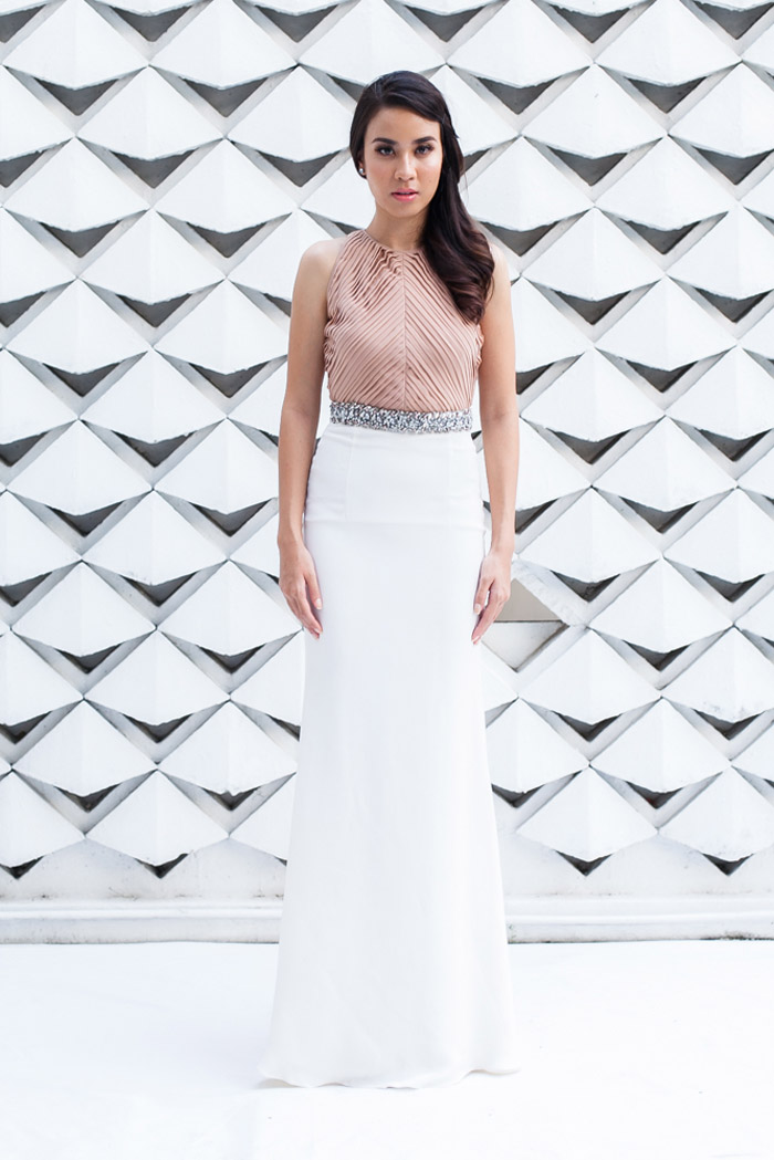 Ruth Gown - Mimpikita 2014 Bridal Collection. www.theweddingnotebook.com