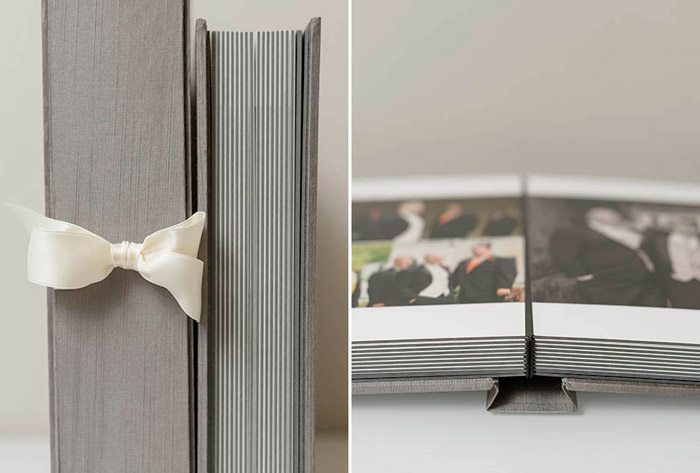 Photo by Hunter Photographic – What These Wedding Albums Tell Us About The Photographer. www.theweddingnotebook.com