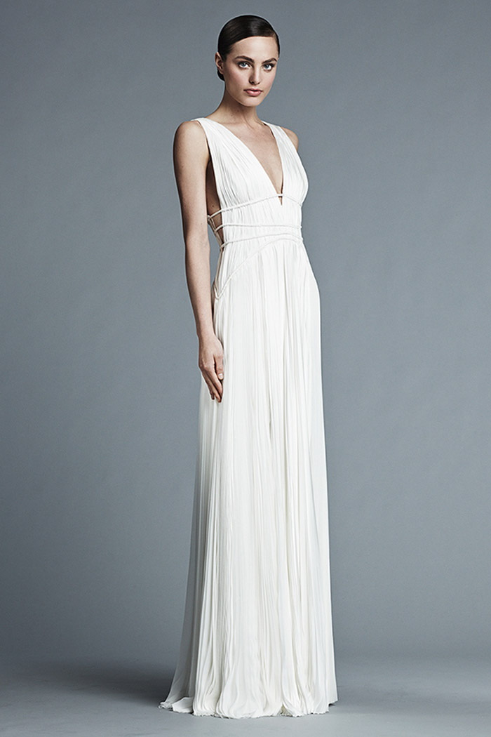Giselle – J. Mendel Bridal 2015 Collection. www.theweddingnotebook.com