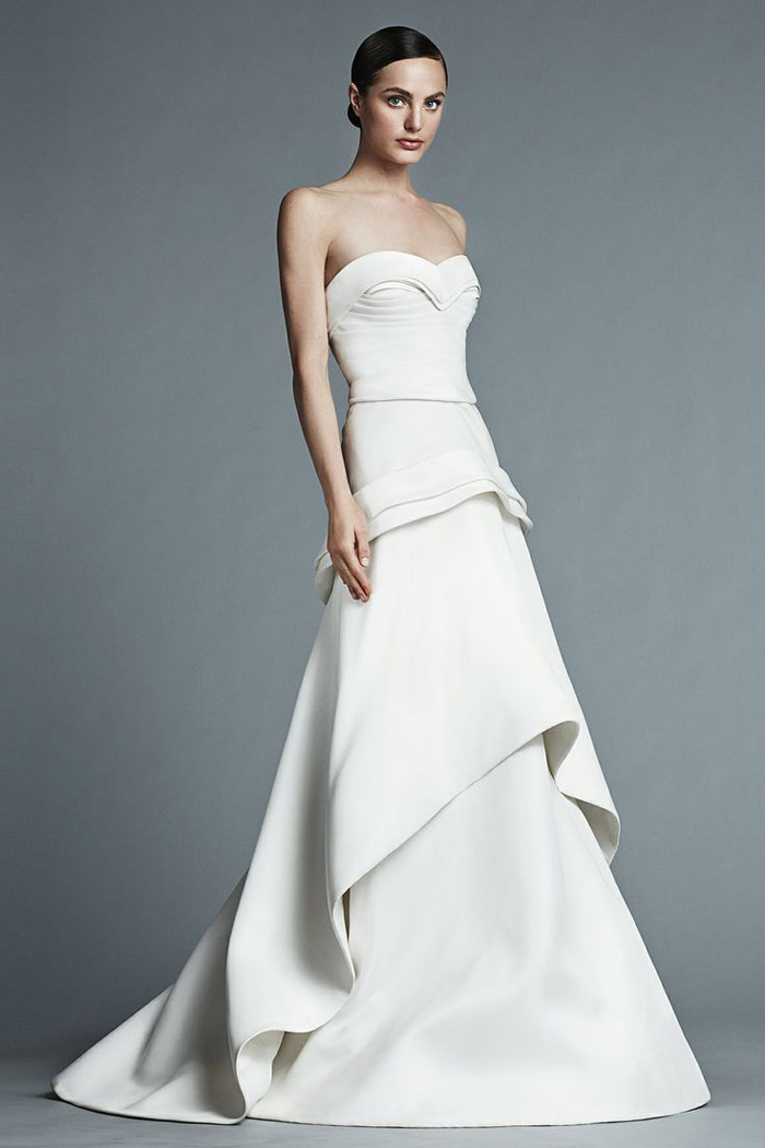 Kiki – J. Mendel Bridal 2015 Collection. www.theweddingnotebook.com
