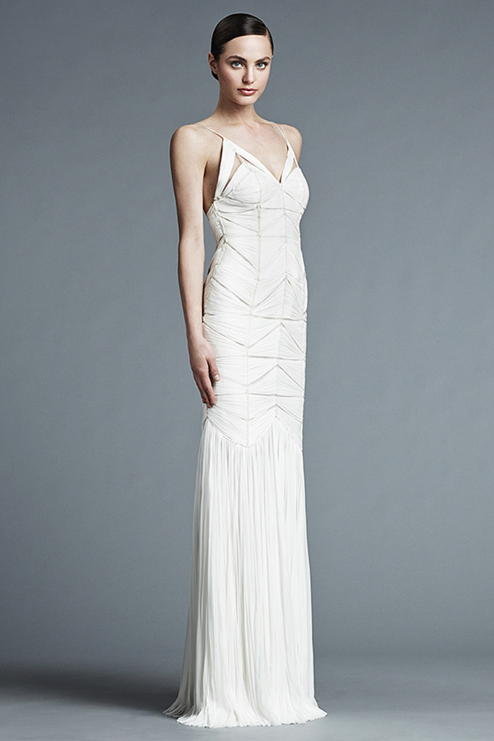 Marine – J. Mendel Bridal 2015 Collection. www.theweddingnotebook.com