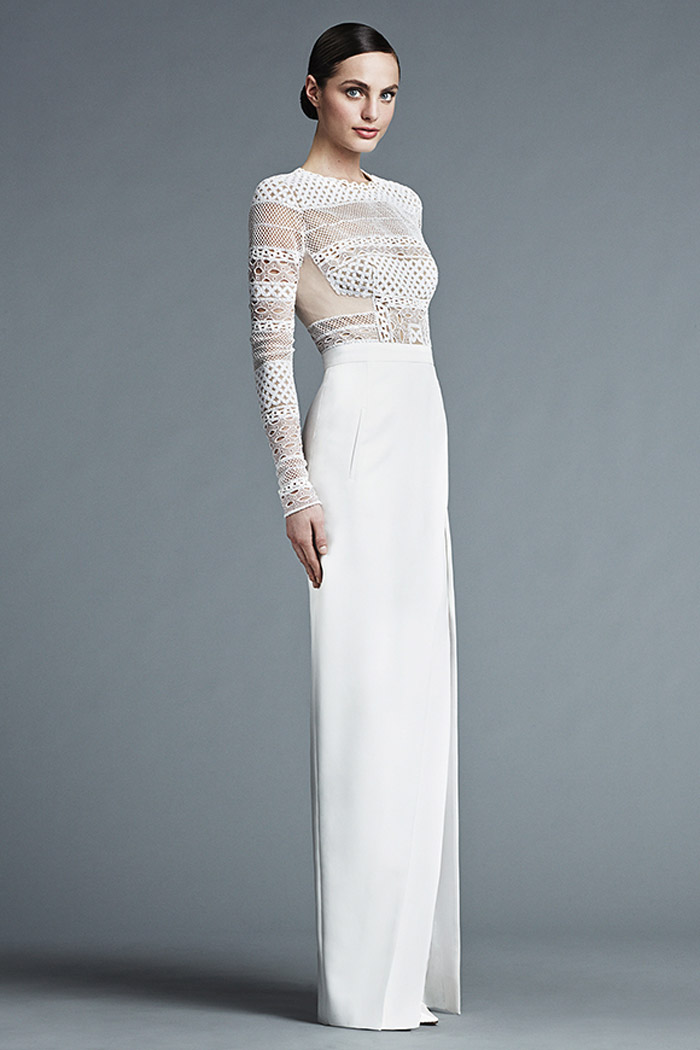 Claire – J. Mendel Bridal 2015 Collection. www.theweddingnotebook.com