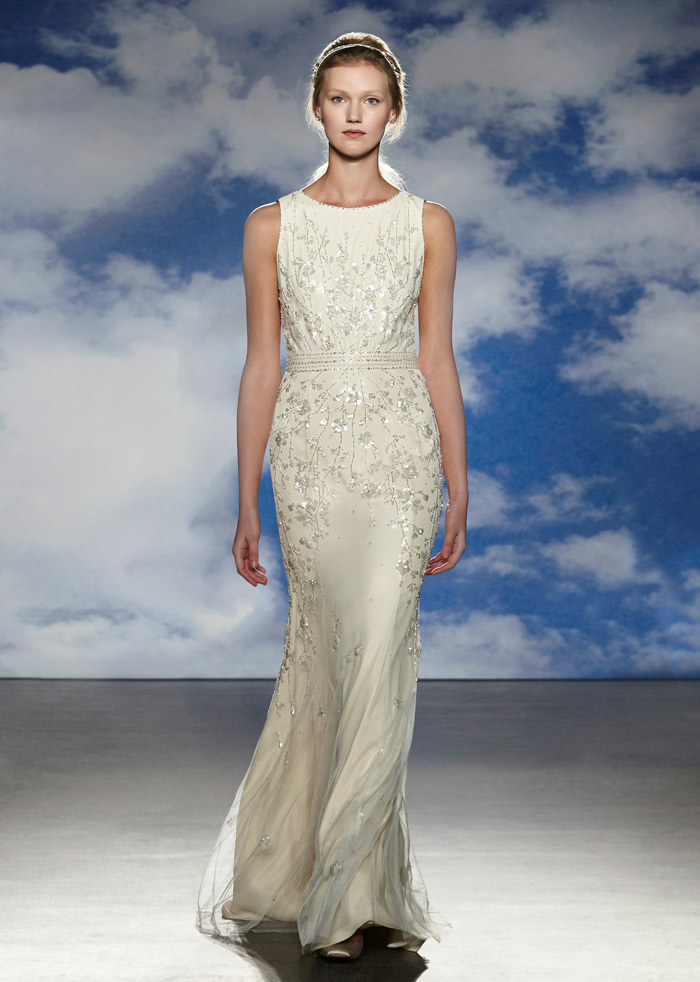 Nelly – Jenny Packham Spring 2015 Bridal Collection. www.theweddingnotebook.com