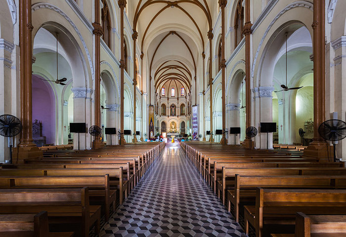 20 Stunning Cathedrals And Chapels In Asia –Saigon Notre-Dame Basilica, Hồ Chí Minh, Vietnam