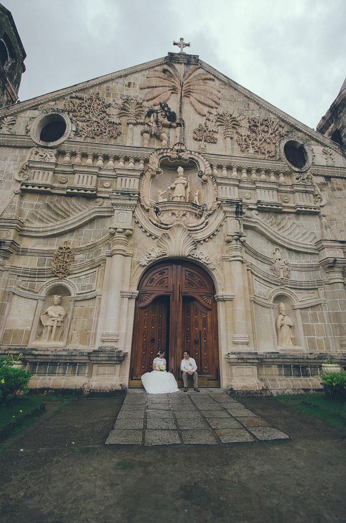 Miagao Church, Philippines. Photo by Color Swirls Media. www.theweddingnotebook.com
