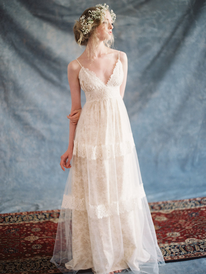 Thyme – Claire Pettibone 2015 Bridal Collection. www.theweddingnotebook.com