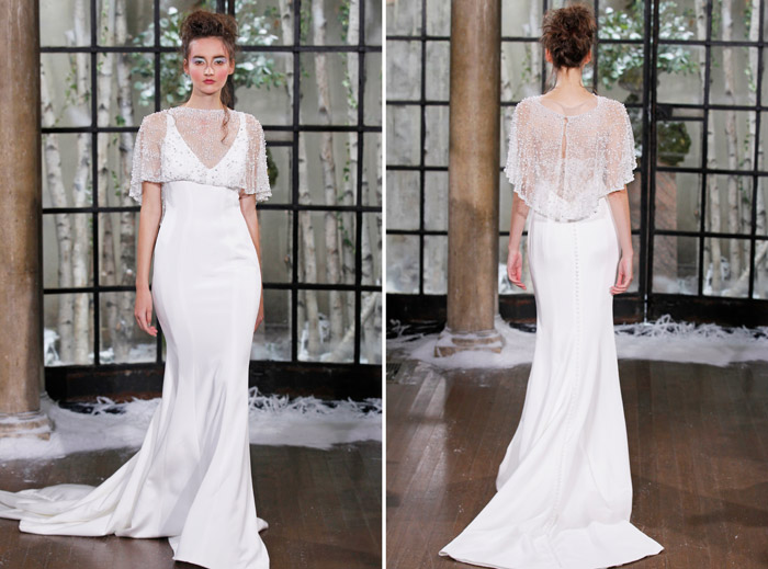 LIMOGES –Ines Di Santo Fall 2015 Collection. www.theweddingnotebook.com