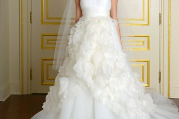 Marchesa Fall 2015 Bridal Collection. www.theweddingnotebook.com