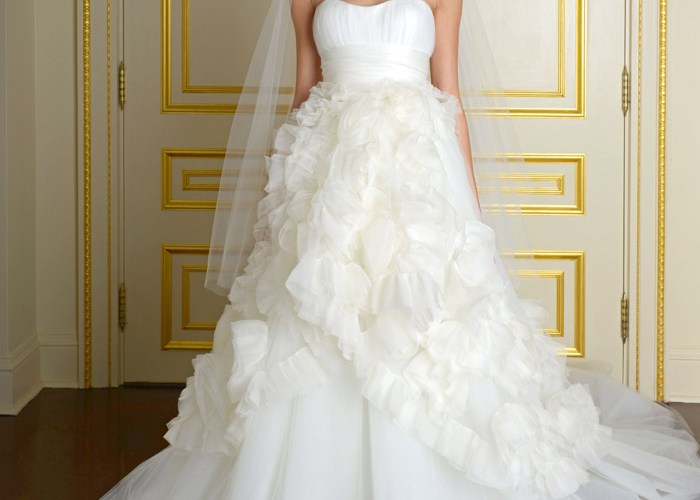 Marchesa Fall 2015 Bridal Collection. www.theweddingnotebook.com