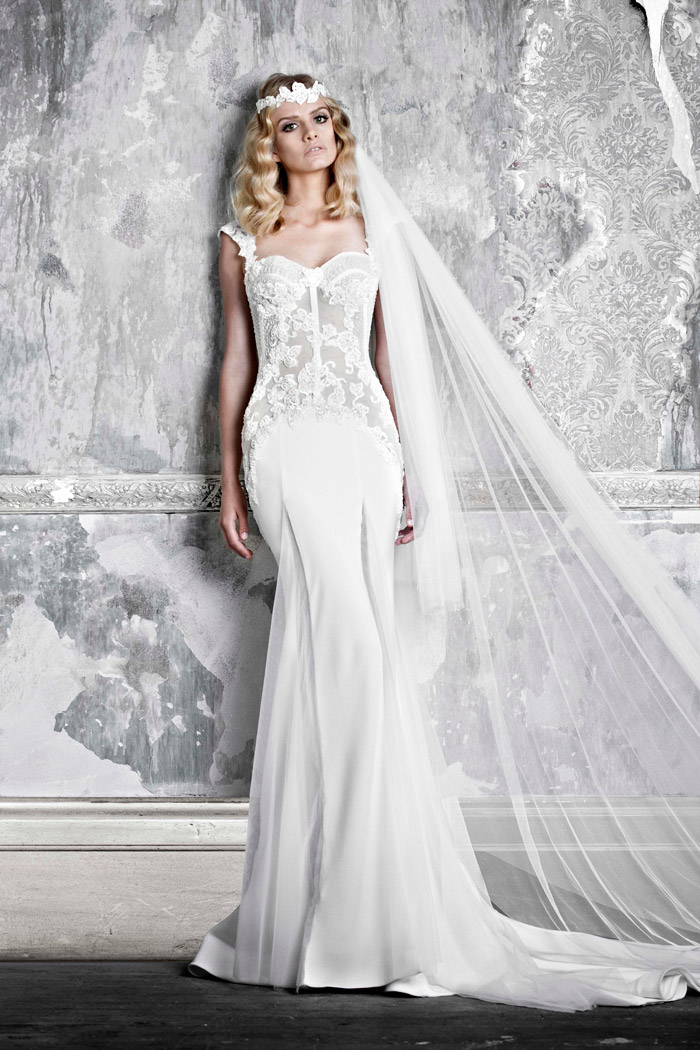 Felice –Pallas Couture 2015 Collection. www.theweddingnotebook.com