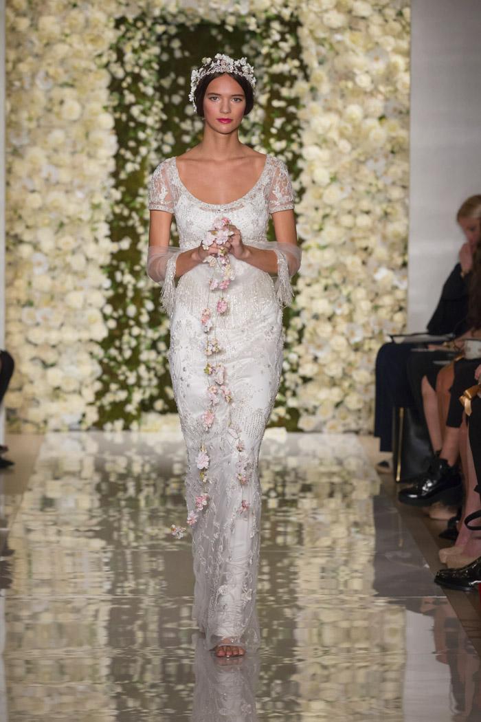 I'm Brilliant – Reem Acra Fall 2015 Bridal Collection. www.theweddingnotebook.com