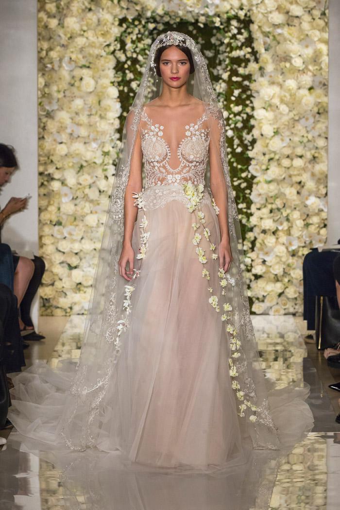 Reem Acra Fall 2015 Bridal Collection. www.theweddingnotebook.com