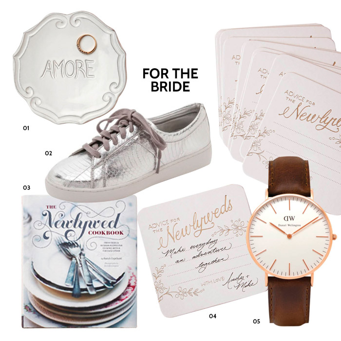 Christmas Gift Ideas For The Bride. www.theweddingnotebook.com