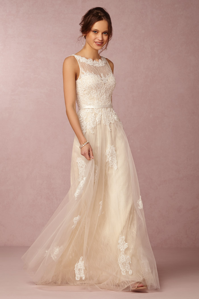 Georgia Gown - BHLDN Spring 2015 Bridal Collection. www.theweddingnotebook.com