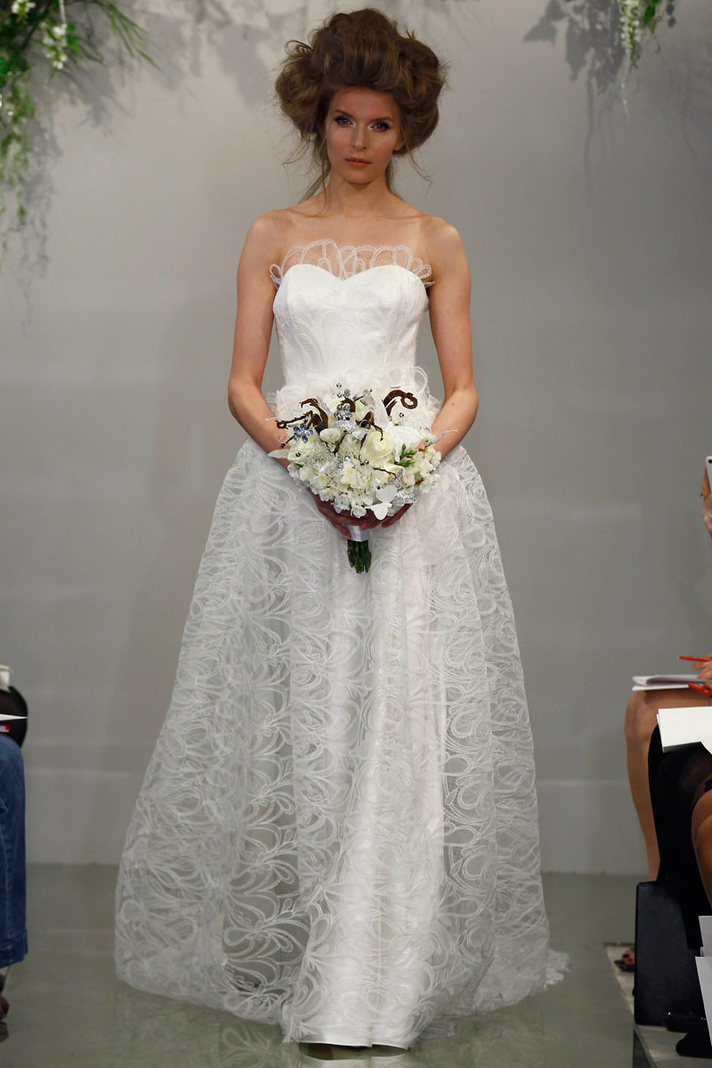Althea - Theia Spring 2016 Bridal Collection. www.theweddingnotebook.com
