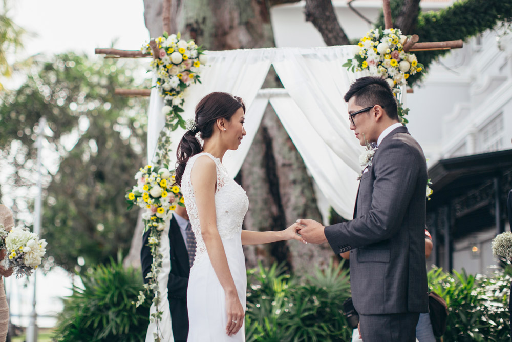 Garden wedding in Penang. Adam Ong Photography. www.theweddingnotebook.com