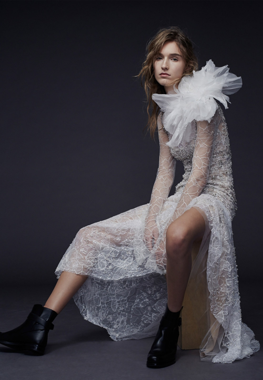 Paige – Vera Wang Fall 2015 Collection. www.theweddingnotebook.com