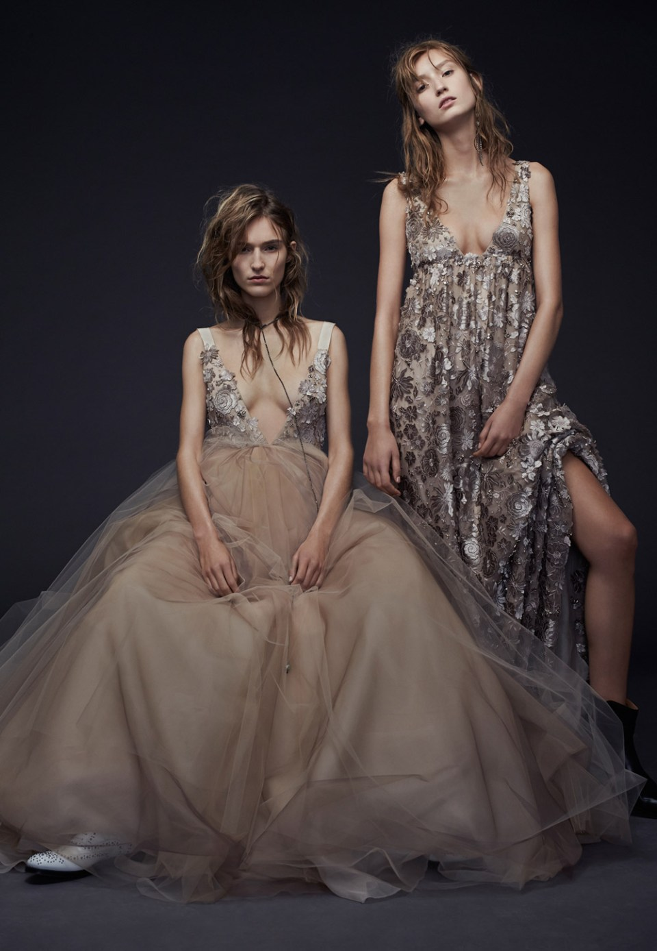 Penny and Paloma –Vera Wang Fall 2015 Collection. www.theweddingnotebook.com