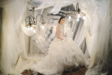 Von Lazaro Bridal Collection. Photo by Jaja Lifestyle Photography. www.theweddingnotebook.com