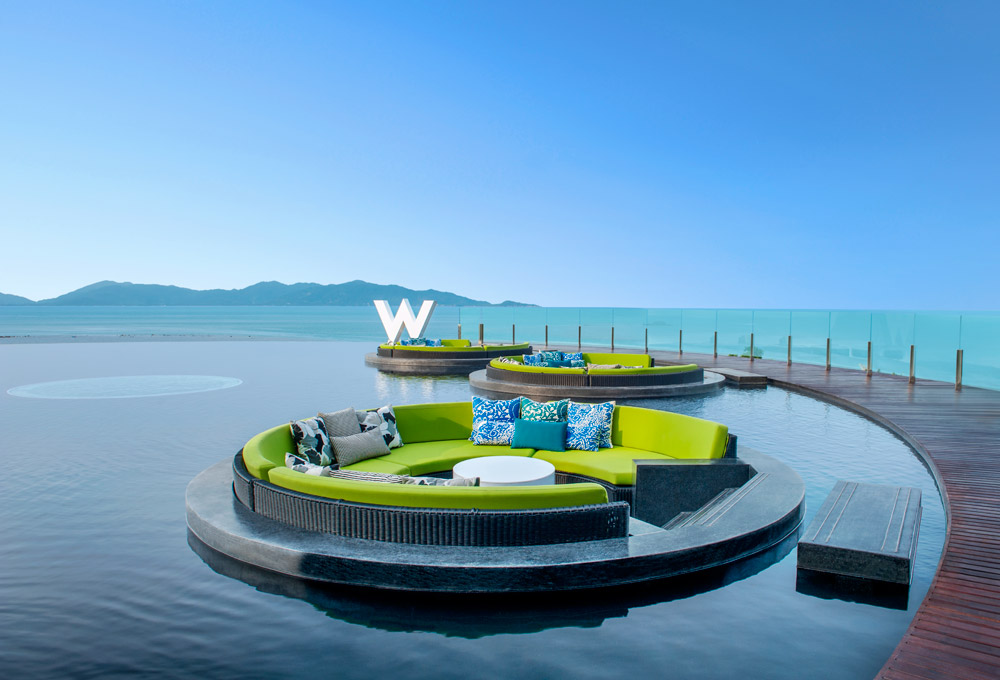W Retreat Koh Samui. Luxury Honeymoon Resorts in Southeast Asia. www.theweddingnotebook.com