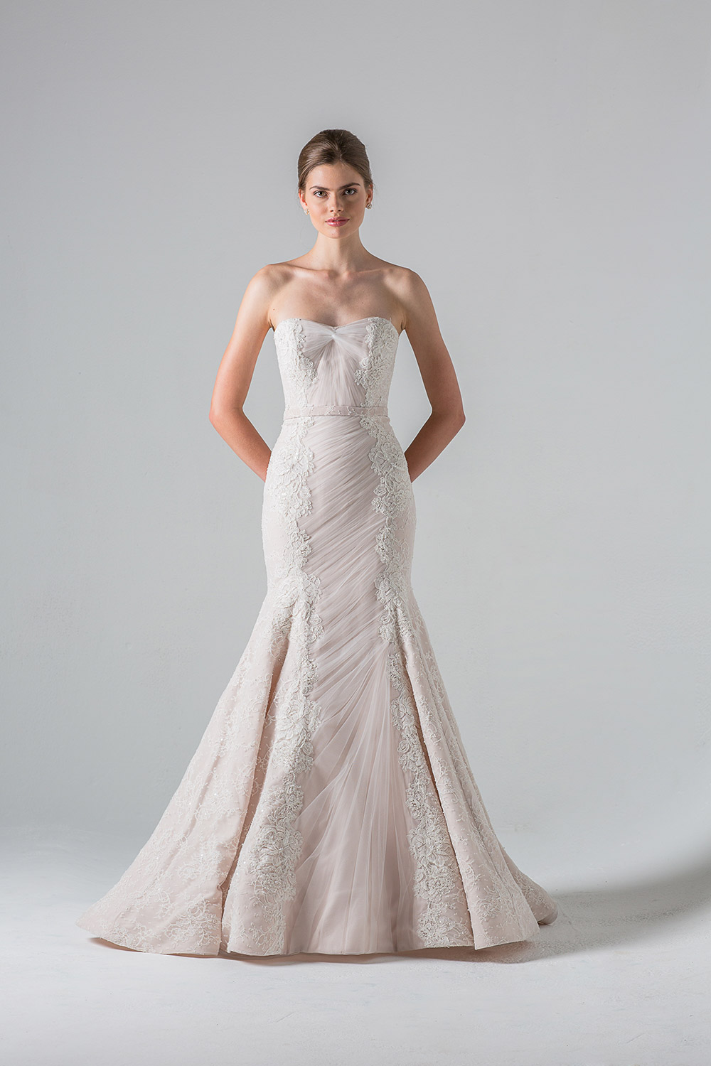 Luxembourg - Anne Barge Couture Spring 2016 Collection. www.theweddingnotebook.com