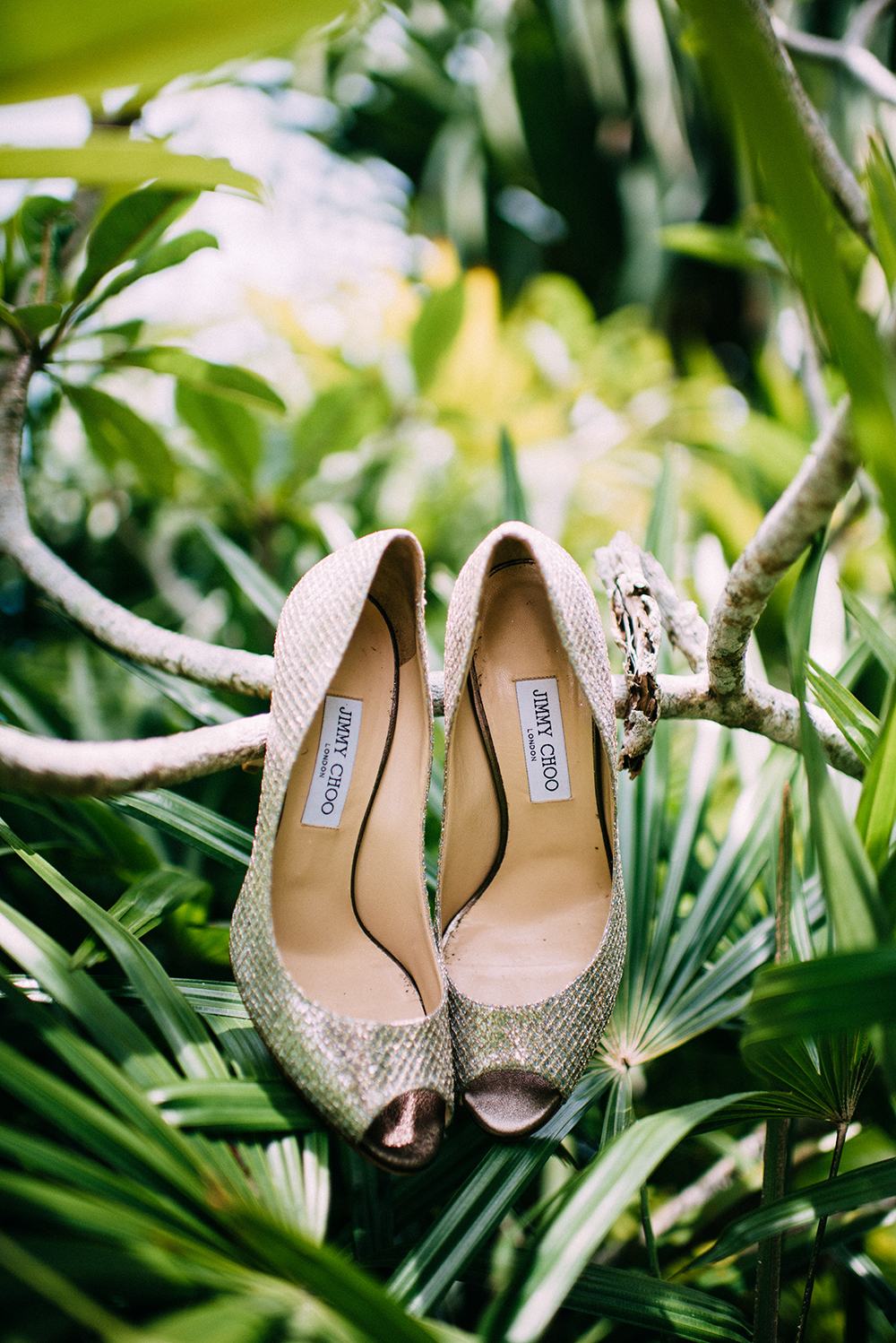 Bridal Shoes by Jimmy Choo. Photo by The Vow Studio. www.theweddingnotebook.com