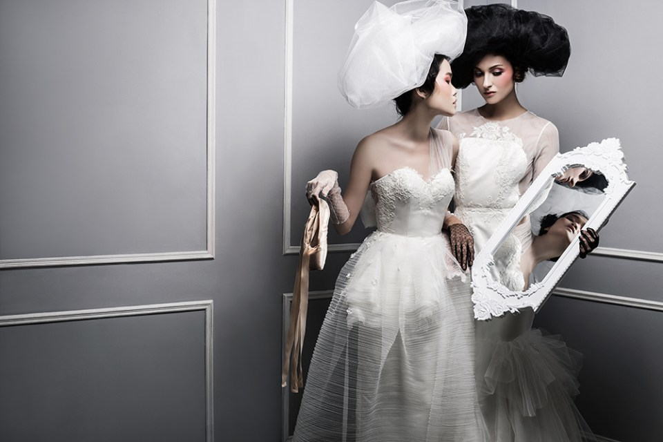 The Art of Relection - Ambersze 2016 Collection. www.theweddingnotebook.com
