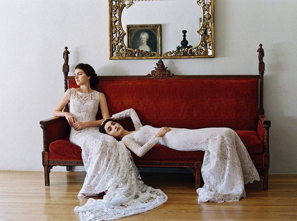 Sareh Nouri – New York Spring 2017 Bridal Collection. www.theweddingnotebook.com