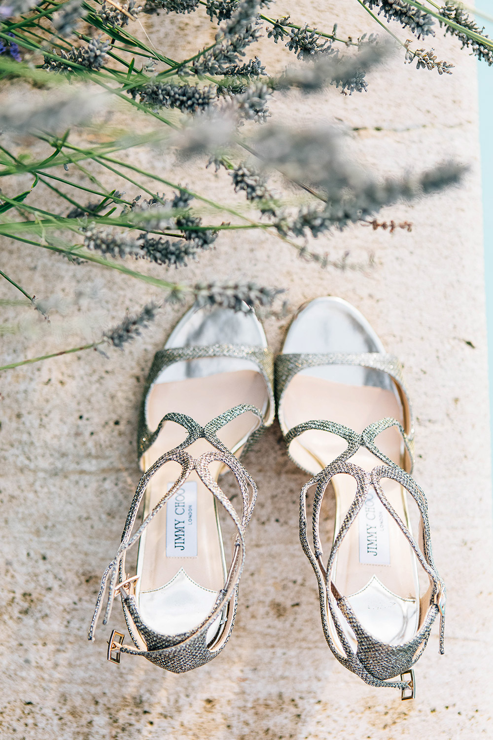 Jimmy Choo bridal shoes. Bluecicada Photography. www.theweddingnotebook.com