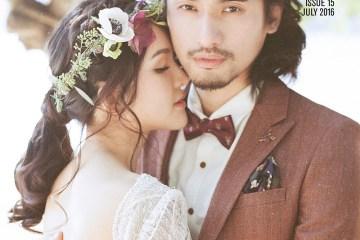 The Wedding Notebook magazine July 2016. www.theweddingnotebook.com