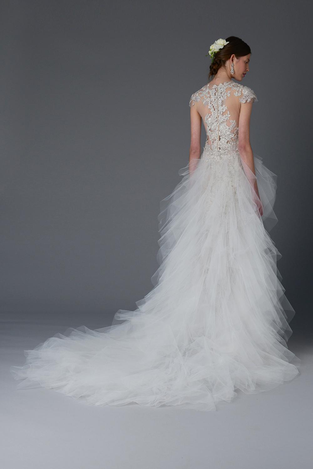 Silene - Marchesa Spring 2017 Bridal Collection. www.theweddingnotebook.com