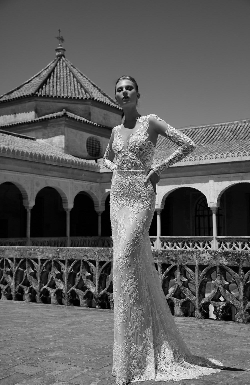 CAROLINE - Alon Livne 2017 Bridal Collection. www.theweddingnotebook.com