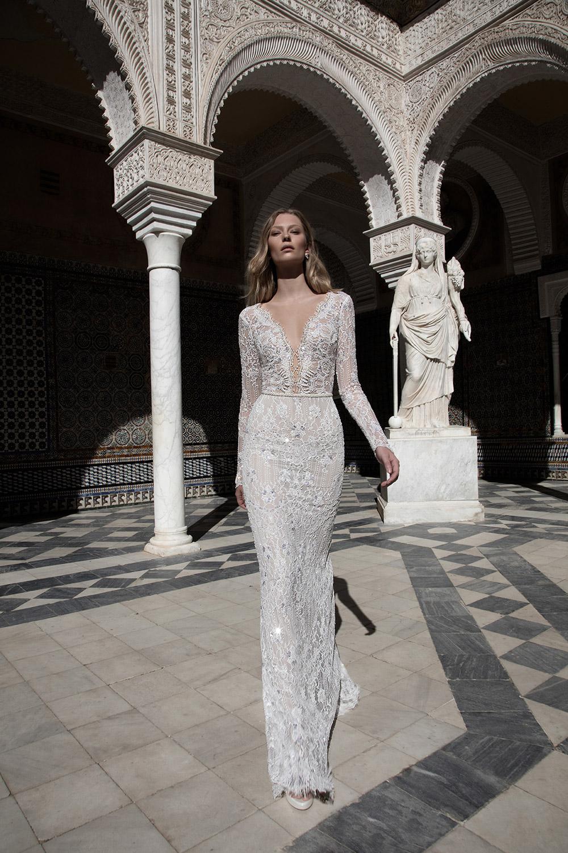 KIM - Alon Livne 2017 Bridal Collection. www.theweddingnotebook.com