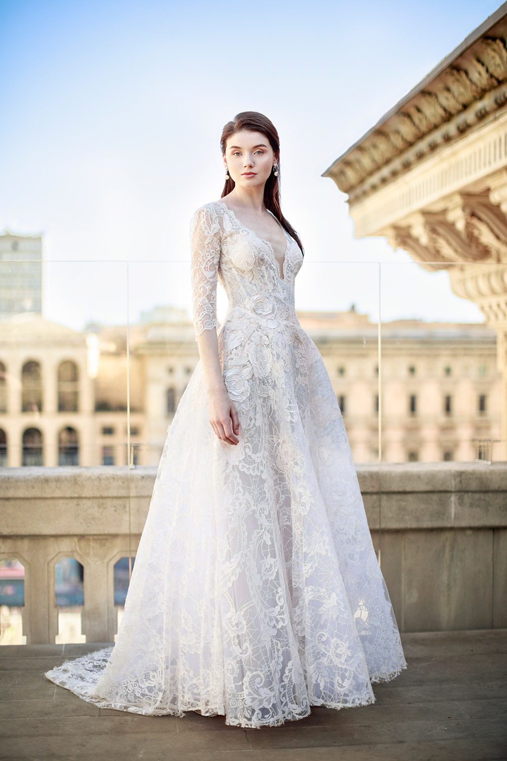 Gemy Maalouf Fall 2017 Bridal Collection. www.theweddingnotebook.com