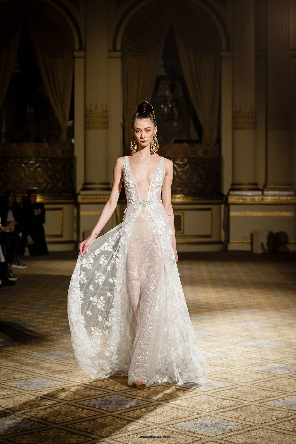 Berta Bridal Spring 2018 Collection. www.theweddingnotebook.com