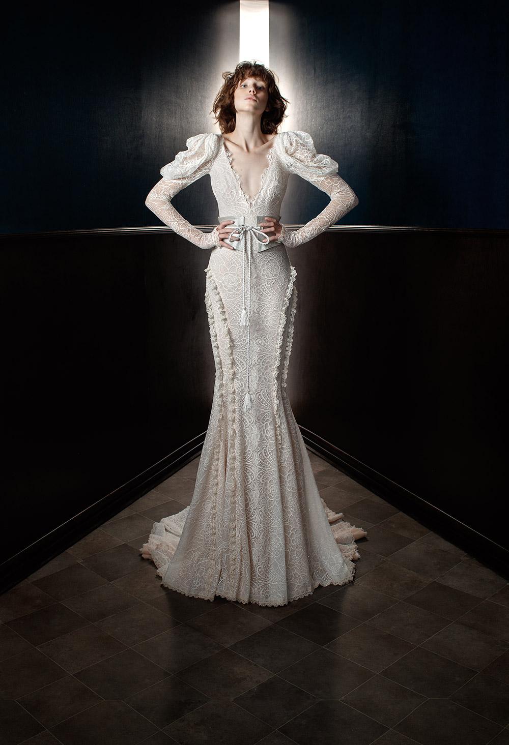 Charlie and Molly Belt - Galia Lahav Spring 2018 Bridal Collection. www.theweddingnotebook.com